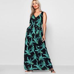 Plus Sized Clothing NZ - 6xl Summer Women Dresses Plus Size Flower Print 2019 Femme Party Long Dress Big Size V Neck Casual Large Size Dress Clothes J190509