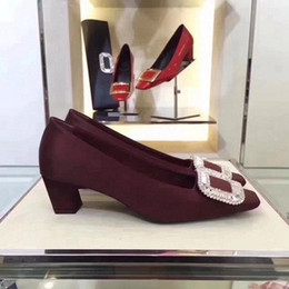 Designs Dress Australia - 2019 Original Design Women's Elegant Dress Shoes Brand Quality And Perfect Single Shoes High Heels exquisite