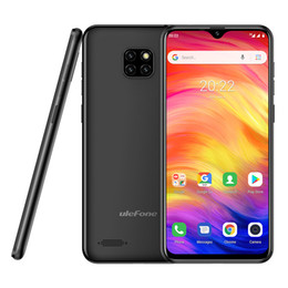 Quad core 5.7 inch phone online shopping - Ulefone Note Triple Camera Mobile Phone GB GB MT6580A Quad Core Android Cellphone Waterdrop Face ID Smartphone NEW