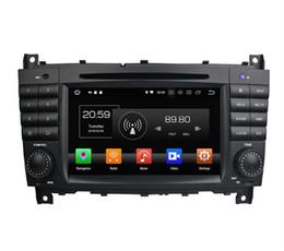 "Stereo Gps Mercedes Australia - PX5 Octa Core 2 din 7"" Android 8.0 Car DVD Radio GPS for Mercedes Benz C-Class W203 CLC G Class W467 Bluetooth WIFI USB Mirror-link"