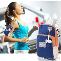 $enCountryForm.capitalKeyWord Australia - Waterproof Sports Gym Running Armband Case Workout Armband Holder Ponch Wrist Designer Arm Bag Band Cover for iphone 6 7 Plus Samsung HTC