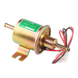 Truck gas online shopping - HEP A New Gas Diesel fuel pump Inline Low Pressure electric fuel pump V V Suitable for all volt car trucks and boats
