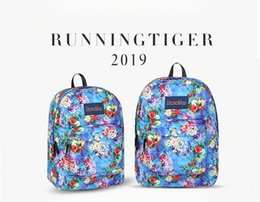 printed backpacks NZ - Runningtiger Unisex New Boy Girl Printing Swisswin Backpack Colorful Flower Style Schoolbag Teenager School Bags Shoulders Casual Satchel