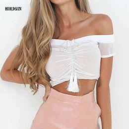 $enCountryForm.capitalKeyWord NZ - Sexy off shoulder crop top Women summer slim ruffle sleeveless bustier top tees Party white camisole tank top