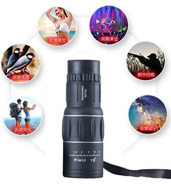Discount night vision telescope camera - Monocular Telescope Zoom Objective Camera Lens Kit Night Vision Definition Dual Focus Scope for Camping Phone Mount