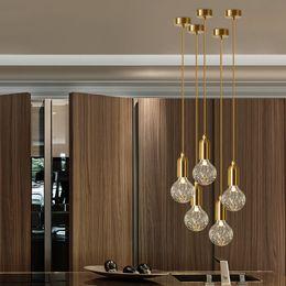 $enCountryForm.capitalKeyWord Australia - JESS Nordic Minimalist Restaurant Lamp Loft Retro Carved Glass Led Dining Room Lights Coffee Shop Bar Light Free Shipping