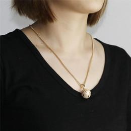 Necklaces Pendants Australia - Basketball Pendant European and American style alloy necklace cross-border e-commerce explosive jewelry sport pendant jewelry factory wholes