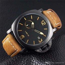 $enCountryForm.capitalKeyWord NZ - Q Brand Limited Edition 1950 PVD Black Carbon Fiber Case 00700 LAB-ID 700 Black Dial Quartz Mens Watch Leather Strap Luxury Gents watches