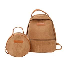 $enCountryForm.capitalKeyWord Australia - Fashion Women 2018 Cute Backpack For Teenagers Children Backpack Set 2pcs Backpack Shoulder Bag Girls Backpacks Feminine Packbag Y19051405