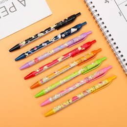$enCountryForm.capitalKeyWord Australia - 1PC kamio japan Pikachu limited gel pen Cute Cartoon Kawaii Modeling 0.38mm Press Gel Pen for student writing stationery