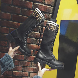 Boot Heel Chains Australia - Toe Fashion Designer Strange High Heels Real Leather Women Shoes New Autumn Winter Boots Runways Long Woman Boots