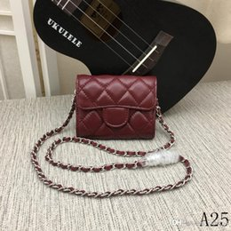 $enCountryForm.capitalKeyWord Australia - 19 years of hot new early spring noble temperament ladies designer sheepskin mini shoulder bag chain ladies wallet section number 5030A