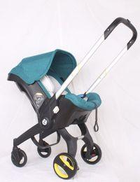 Assento Two Way 4 em 1 multifunções Stroller New Baby Stroller Segurança cesta de sono claro Stroller dobrável, sentado e deitado em Promoção
