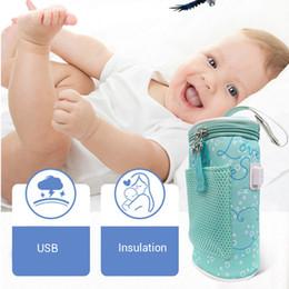 $enCountryForm.capitalKeyWord Australia - Baby Bottle Warmer Bag Portable USB Charging Baby Infant Bottle Heater Milk Warmer Feeding Nursing Insulation Bag