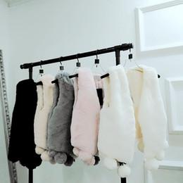 $enCountryForm.capitalKeyWord Australia - 2018 Winter Women Lady Faux Fur Vest Short Slim Thick Sleeveless Coats Outerwear Warm Faux Fox Fur Vest
