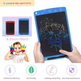 $enCountryForm.capitalKeyWord Australia - 8.5 inch LCD Design Writing Tablet Digital Handwriting Pad Art Colorful Drawing Board Electronic Touch Pads Slim Graphic Tablets