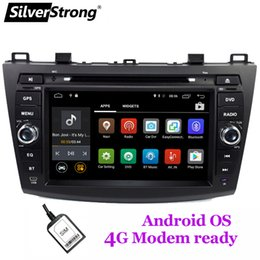 Discount mazda dvd android - SilverStrong 4G Modem Android 9.1 Car DVD For Mazda 3 Axela SIM Multimedia Bluetooth 4.0 WIFI Option TPMS
