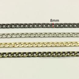 $enCountryForm.capitalKeyWord Australia - High Quality 8mm Metal Chains Shoulder Bag Strap Women Handbag Purse Adjusted Strap Chains DIY Replacement Handle Accessories