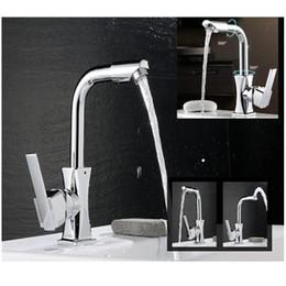 $enCountryForm.capitalKeyWord UK - 360 Rotation Spout Modern Kitchen Mixer Tap Brass Polished Single Handle Wash Basin Faucet For Bathroom Deck Mounted