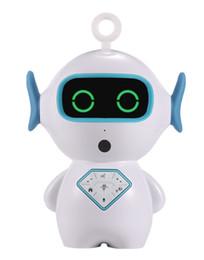 Kusound Çocuklar için Büyük Noel Hediyesi AI ROBOT Akıllı Ses Kontrolü Karikatür Robot erken eğitim makinesi Wifi çocuk Oyuncak indirimde