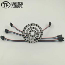 Ws2812b strip online shopping - WS2813 LED Ring New WS2812B Bit RGB WS2813 addressable LED Ring Led Board for Arduino VDC Strip Type angel eyes