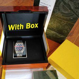 Original autOmatic watch papers online shopping - 2019 Best quality luxury watch mm ST ROYAL OAK Automatic watch Original box papers movement mens watches men wristwatch watch