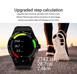 new gps smart watches 2019 - Gofuly New Bluetooth 3G Android Smart Watch SIM Phone GPS 4GB Dual Core Digital Watches cheap new gps smart watches