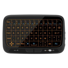 $enCountryForm.capitalKeyWord NZ - H18 2.4Ghz Backlight Full Touchpad Mini Wireless Keyboard Air Mouse remote controller for Computer TV Box HTPC HD Player