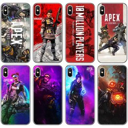 Iphone Case Yellow Purple Australia - Wholesale Popular Game APEX Legands Printed Phone Case for Iphone XSMAX XR XS X 7P 8P 7 8 6 6sP 6 6s 5 5s se Samsung Cases New Arrival
