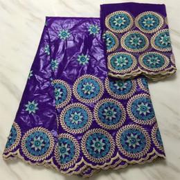 $enCountryForm.capitalKeyWord Australia - Purple bazin riche getzner 2019 nouveau african fabric bazin brode getzner brocade jacquard fabric dubai fabric7yard set L1601