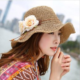 Hollow Fiber Australia - 2019 new hot sale comfortable fashion casual hat female summer hollow breathable straw hat UV protection along the beach