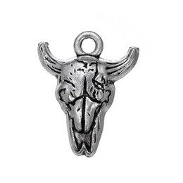 Diy Bracelets Materials UK - Myshape Wholesale,Retail,Fashion,DIY Charm Metal Material Silver Plated Bracelet Pendant With Animal Shape 30pcs