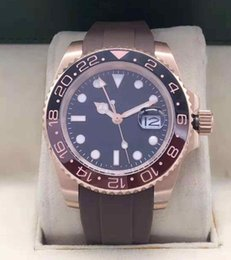 $enCountryForm.capitalKeyWord Australia - 2019 High Quality New Arrival GMT Ceramic Bezel Mens Automatic Mechanical Watch Rubber Strap Mes Sport Wrist Watch