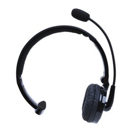 Multi Point Bluetooth Australia - M10B trunk Boom Mono Multi-point Wireless Bluetooth Headset Earphone Hands-free Headphone Voice Dailing for Smart Phone Tablet PC DHL