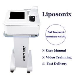 Wholesale 2021 NEW HIFU Liposonix Machine Non-Surgical Fat Treatment Liposonix Body Slimming Home Salon Use Lipo Fat Removal Device On Sale