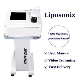 2021 Nouvelle machine HIFU LIPOSONIX Machine de graisse non chirurgicale LIPOSONIX Body Minceur Home Salon Utilisez le dispositif de suppression de la graisse Lipo en vente en Solde