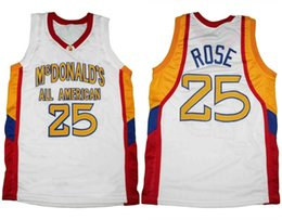 Derrick Rose McDonald s All American Retro Classic Basketball Jersey Mens  Stitched Custom Number name Jerseys 0440f166d