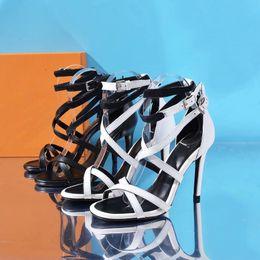$enCountryForm.capitalKeyWord Australia - 1A4W93 Call Back Sandal 10 Cm   4 inch New Fashion Black High Heels Women High Heels Lolita Pumps Shoes Sneakers Dress Shoes 35-41