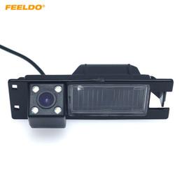 H Camera Australia - FEELDO Car CCD Rear View Camera with LED For Opel Astra H J FIAT Grande Buick Regal Backup Parking Camera #1035