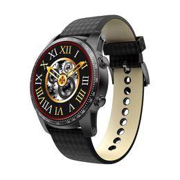 Wifi Wrist Phone Watch Waterproof NZ - KW99 Pro Smart Watch 3G WIFI GPS ROM 16GB + RAM 2GB Heart Rate Monitoring man android ios phone Smartwatch