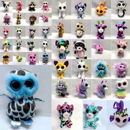 $enCountryForm.capitalKeyWord Australia - INS Phone Accessories Ty Beanie Boos Plush Stuffed Toys 10cm Cartoon Big Eyes Animals Soft Dolls for Kids Birthday Gifts ty toys keychains