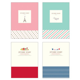 Pages Stationery Australia - Travelers Daily Memos Cute Tower Hardcover Colored Pages Notepad Diary Notebook Kids Gifts Office School Supplies Stationery