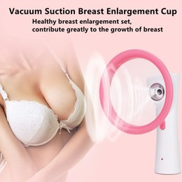 Breast enlargement products online shopping - Bust Enhancer Breast Enhancement Pump Massager Vacuum Suction Enlargement Cups Beauty Products for Girls Lady Size Choice