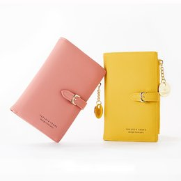 ladies slim wallets NZ - Leather Short Women Wallet Many Department Ladies Small Clutch Money Coin Card Holders Purse Slim Female Wallets Cartera