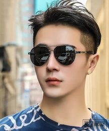 sunglasses club Australia - Brand Fashion Design Sunglasses club ger person Sunglasses metal Half frame retro sunglasses UV400 anti-UV grade wholesale with Packing Labe
