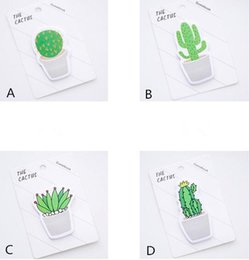 love notebooks Australia - Popular 30 pages pack Fresh Cactus Love Memo Pad Sticky Notes Memo Notebook Stationery Papelaria Escolar School Supplies