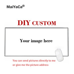 $enCountryForm.capitalKeyWord Australia - MaiYaCa Super Big DIY Personalized Custom Your Cool Image Photo Printed Gamer Gaming PC Computer Rubber Mat Rectangle Mouse Pad