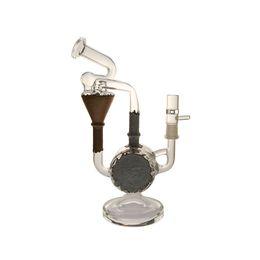 $enCountryForm.capitalKeyWord UK - Fashionable and novel Vortex Glass Bong Recycler Oil Rig Wax Herb Tobacco Water Pipe Heady Klein Bongs Dab Rigs Pipes Bowl Quartz Banger Per