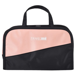 fold cosmetic bag Australia - Women'S Two-In-One Cosmetic Bag Folding Cosmetic Storage Bags Travel Organizer Makeup Bag Large Capacity Beauty Toiletry Bags