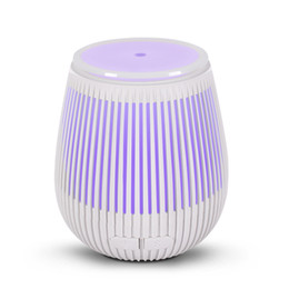 portable face humidifier Australia - Portable 100Ml Capacity USB Ultrasonic Cool Mist Aromatherapy Air Humidifier 7 Colors-Changing Led Light Mini Essential Oil Aroma Diffuser